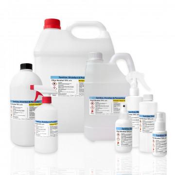 Ethanol 70% v/v Instant Hand Sanitizer (Ethyl Alcohol|Denatured Alcohol|Alcohol)